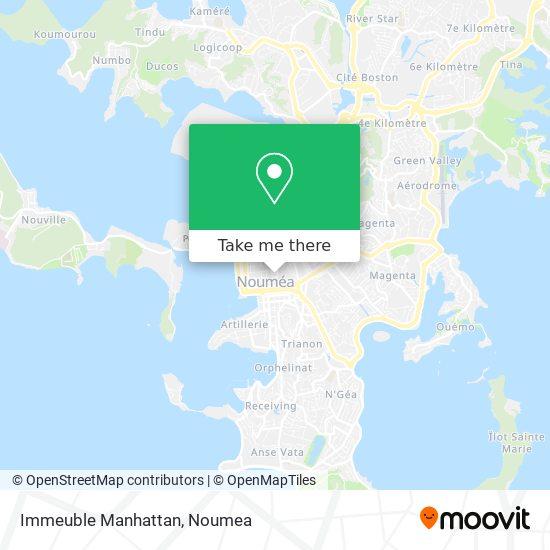 Immeuble Manhattan map