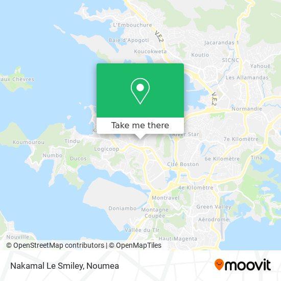 Nakamal Le Smiley map
