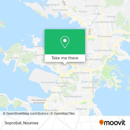 Soprobat map