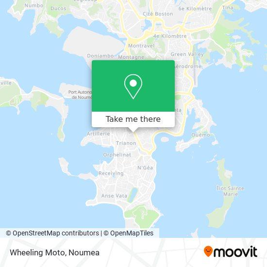 Wheeling Moto map