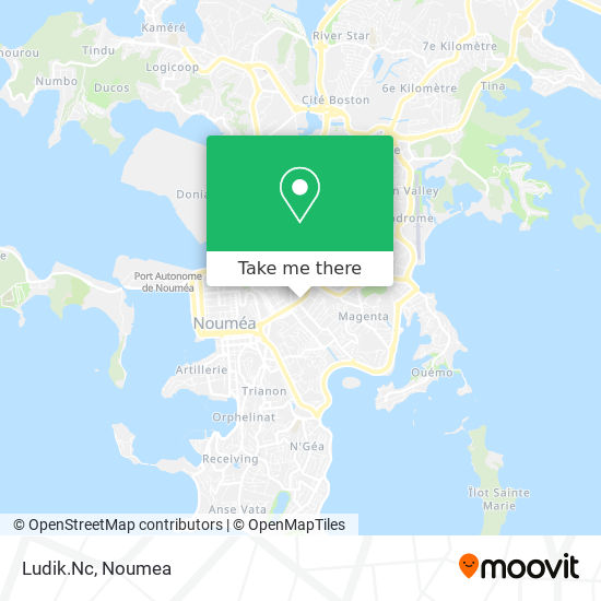 Tropicachat.Nc map