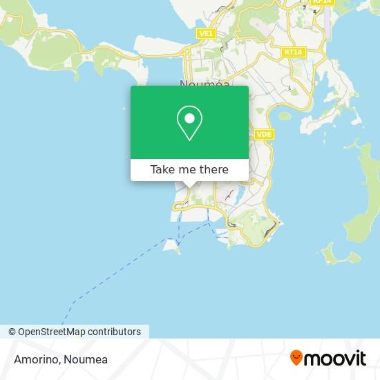 Amorino map