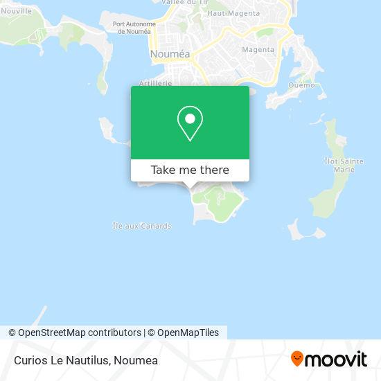 Curios Le Nautilus map