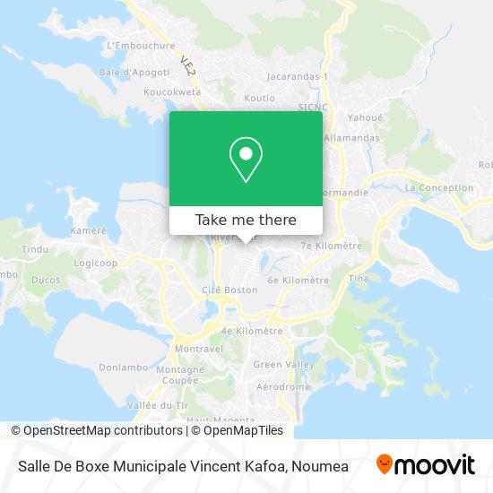 Salle De Boxe Municipale Vincent Kafoa map