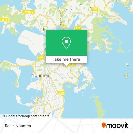 Resir map