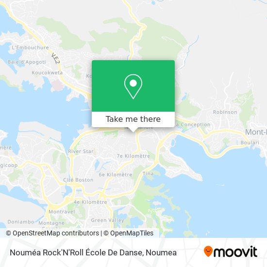Nouméa Rock'N'Roll École De Danse map
