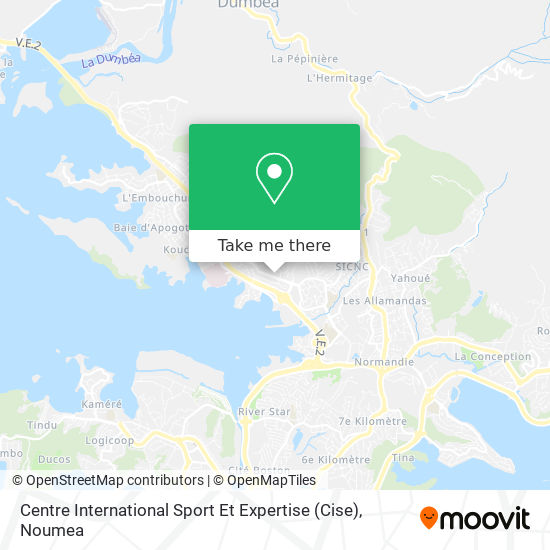 Centre International Sport Et Expertise (Cise) map
