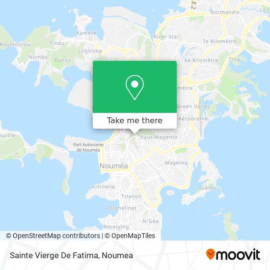 Sainte Vierge De Fatima map