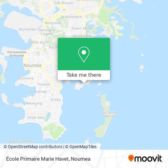 École Primaire Marie Havet map