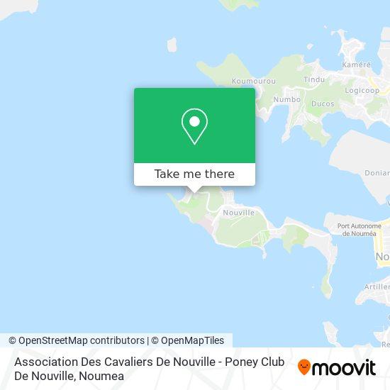 Association Des Cavaliers De Nouville - Poney Club De Nouville map