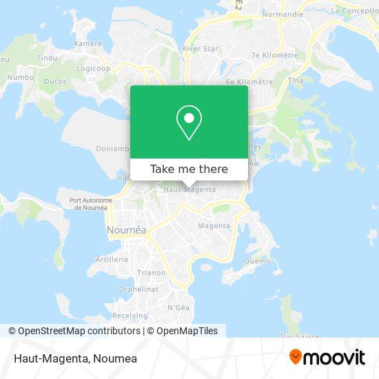 Haut-Magenta map