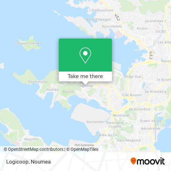 Logicoop map