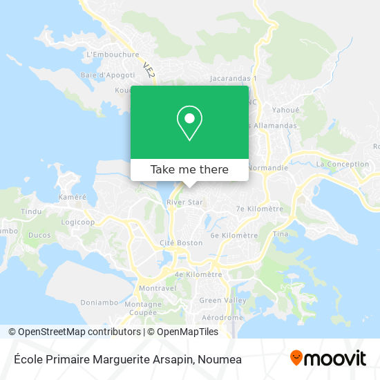 Ecole Primaire Marguerite Arsapin map