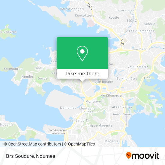 Brs Soudure map