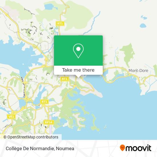 Collège De Normandie map