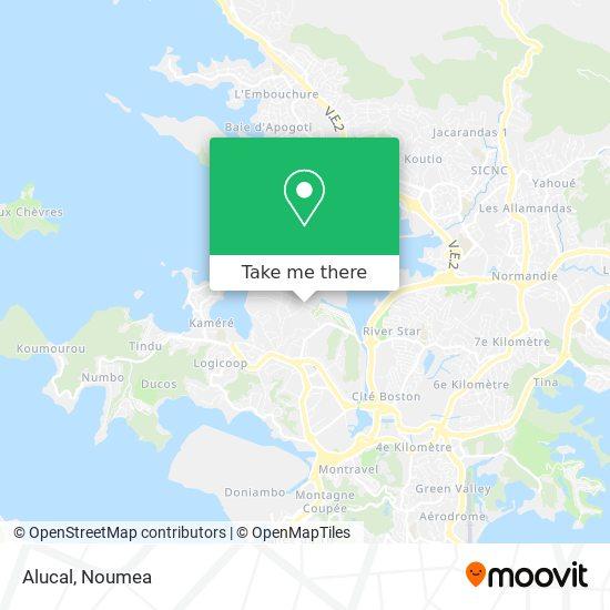 Alucal map