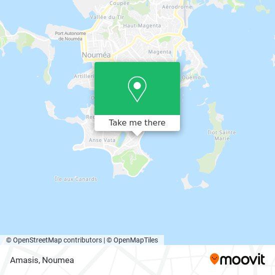 Amasis map