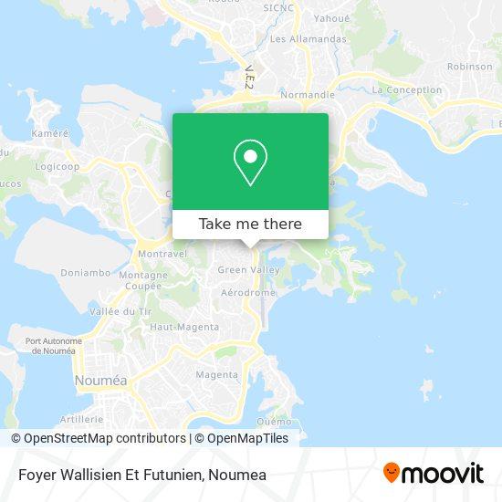 Foyer Wallisien Et Futunien map