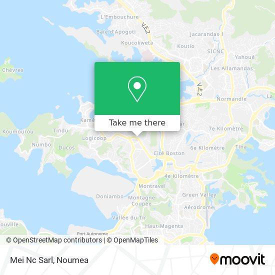 Mei Nc Sarl map