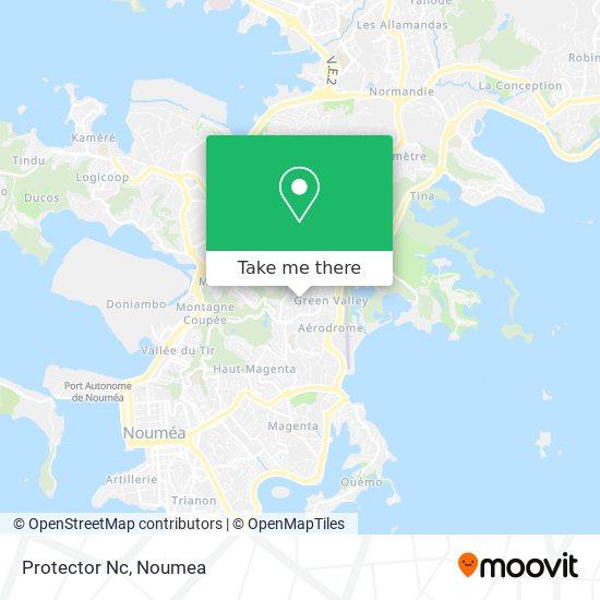 Protector Nc map