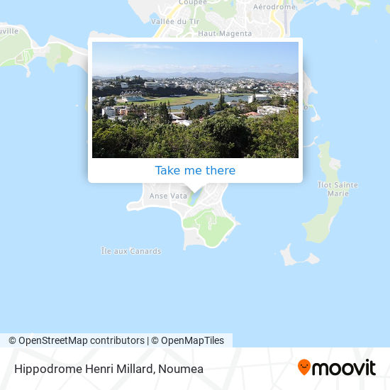 Hippodrome Henri Millard map