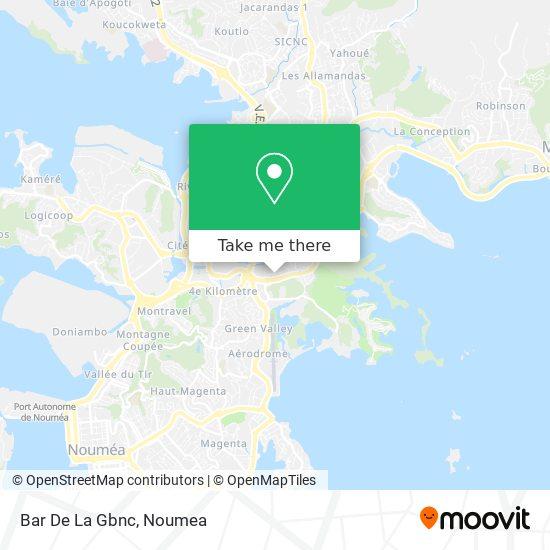 Bar De La Gbnc map