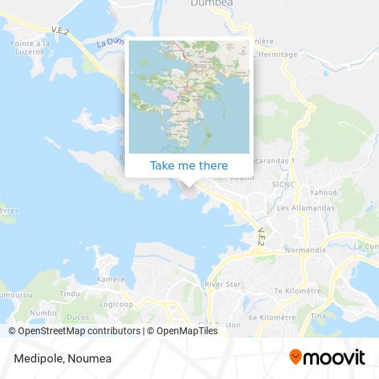 Medipole map