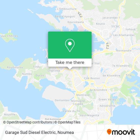 Garage Sud Diesel Electric map