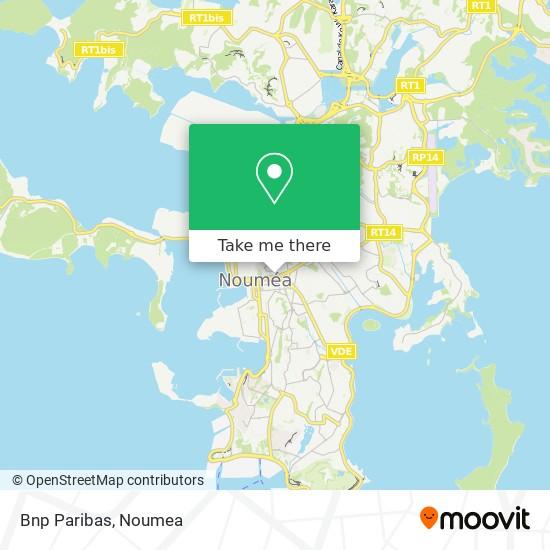 Bnp Paribas map