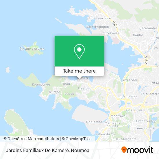 Jardins Familiaux De Kaméré map