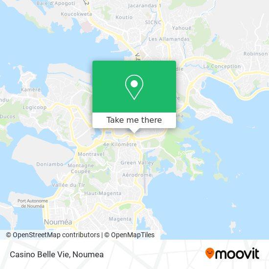 Casino Belle Vie map