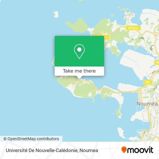 Université De Nouvelle-Calédonie map