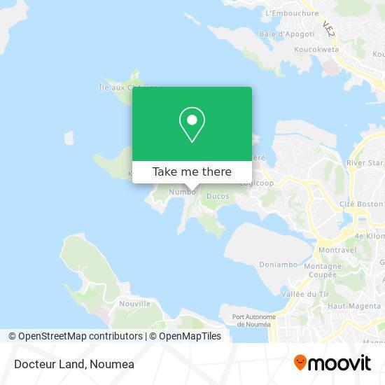 Docteur Land map