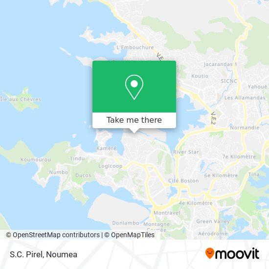 S.C. Pirel map