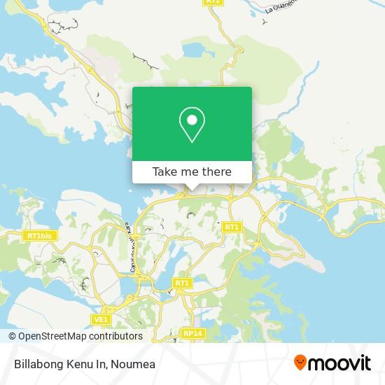 Billabong Kenu In map