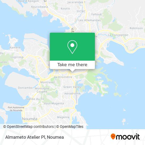 Almameto Atelier Pl map