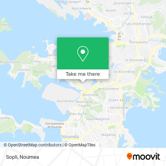 Sopli map