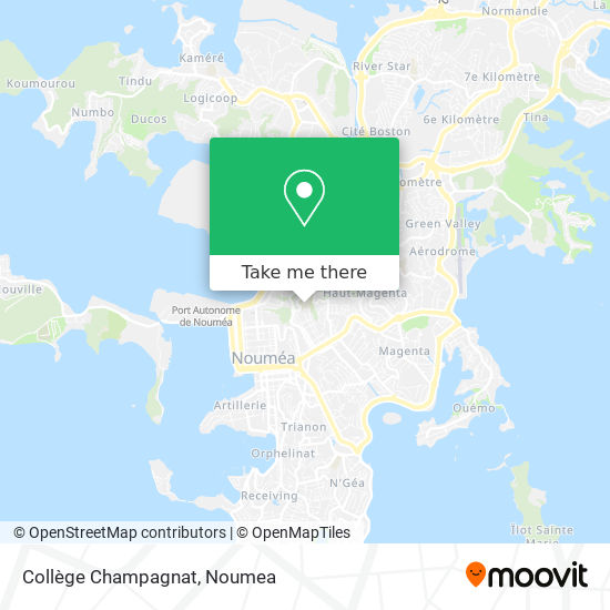 Collège Champagnat map