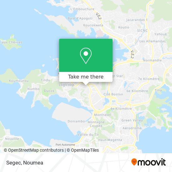 Segec map