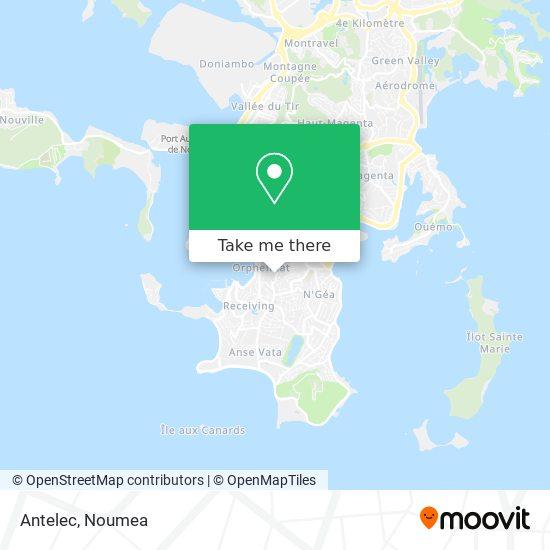 Antelec map