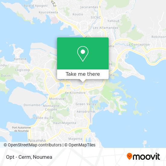 Opt - Cerm map
