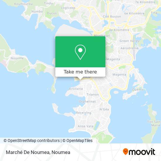 Marché De Noumea map