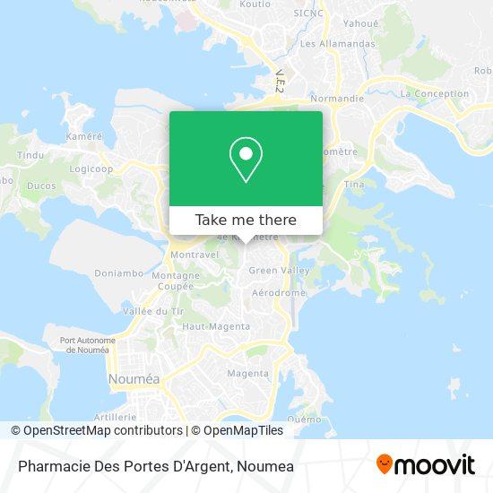 Pharmacie Des Portes D'Argent map