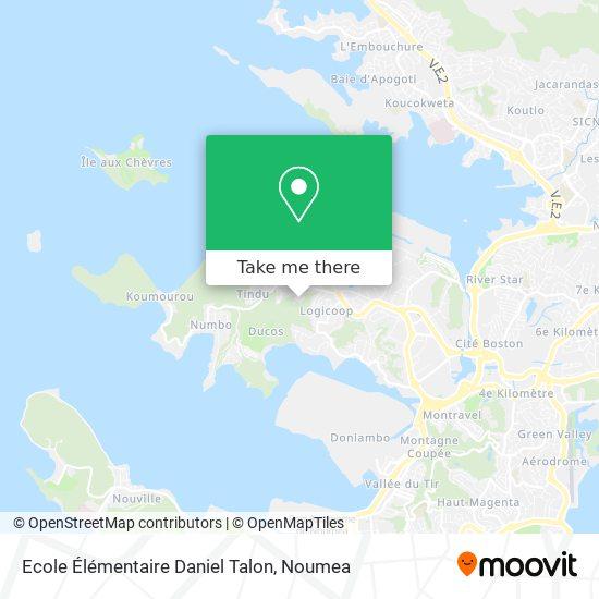 Ecole Élémentaire Daniel Talon map