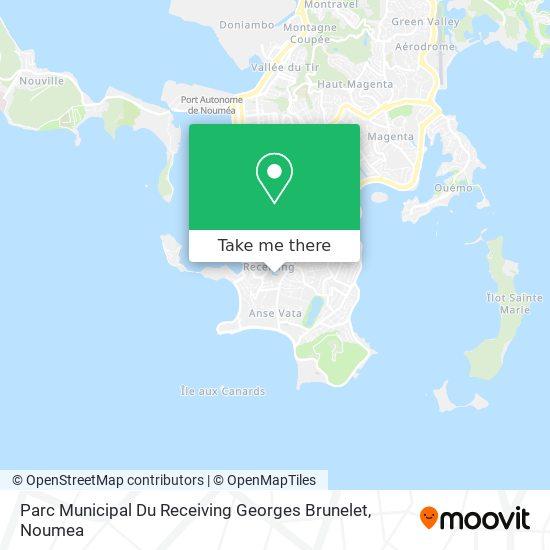 Parc Du Vélodrome Receiving map