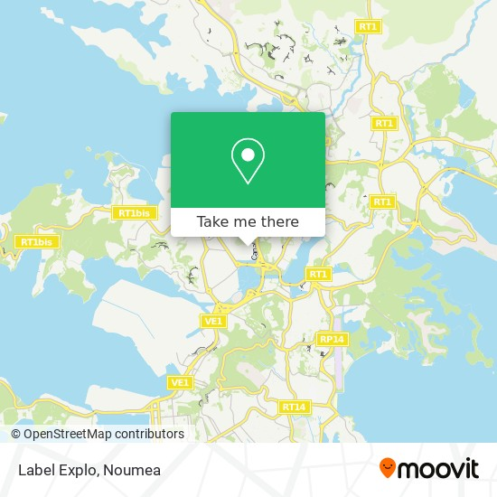Label Explo map