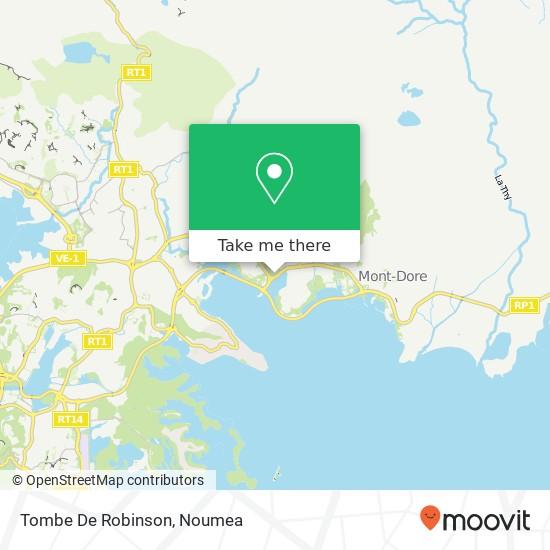 Tombe De Robinson map