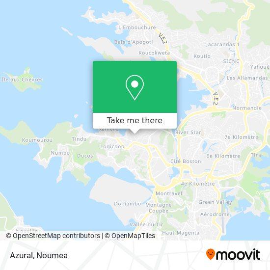 Azural map