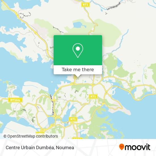 Centre Urbain Dumbéa map