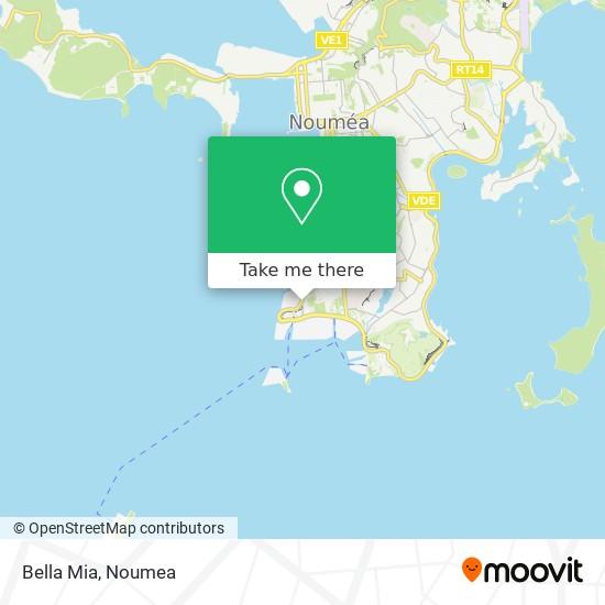 Bella Mia map